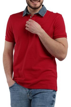 Поло MAVI. Цвет: красный