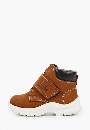 Ботинки Лель. Цвет: коричневый
