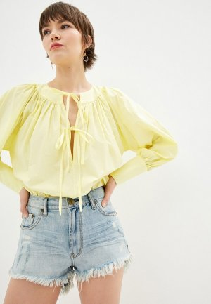 Блуза LAutre Chose L'Autre. Цвет: желтый