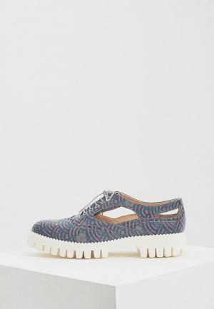 Ботинки Alberto Guardiani. Цвет: фиолетовый