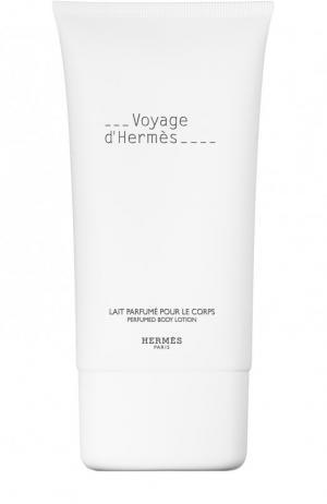 Лосьон для тела Voyage d Hermès. Цвет: бесцветный