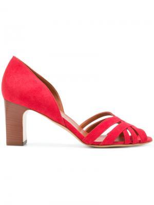 Туфли-лодочки Alyssa Michel Vivien. Цвет: красный