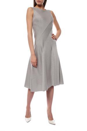 Платье Donna Karan. Цвет: серый