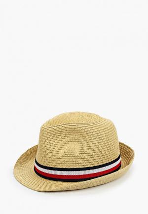 Шляпа Tommy Hilfiger. Цвет: бежевый