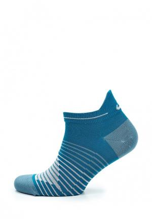 Носки Nike. Цвет: голубой
