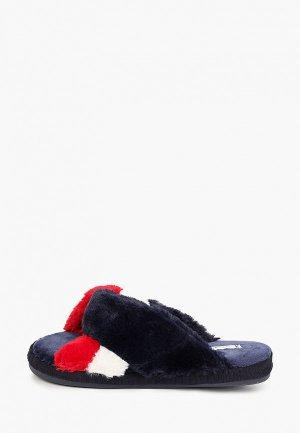Тапочки Tommy Hilfiger. Цвет: разноцветный