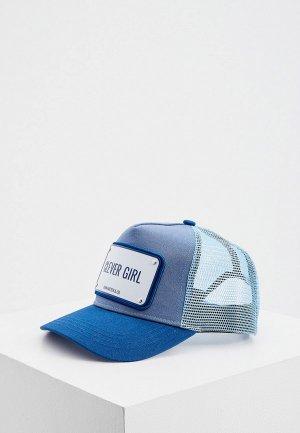 Бейсболка John Hatter & Co. Цвет: голубой